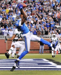 Lions WR Nate Burleson