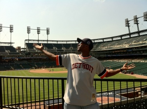 Hittin the Orton after the Tigers beat the Twins