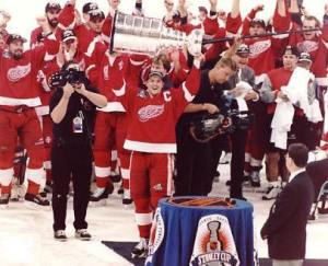 How wild is the NHL: The 1998 Red Wings were the last team to successfully defend the Stanley Cup.