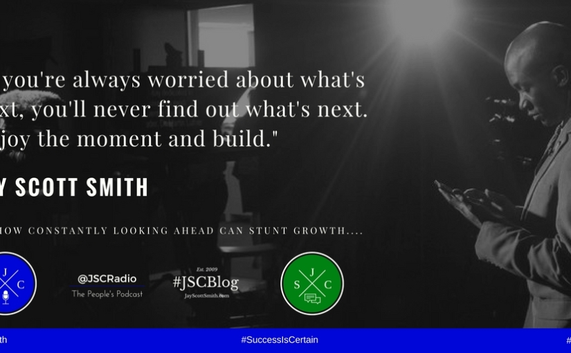 JSC Words of Wisdom #4: Patience is aVirtue