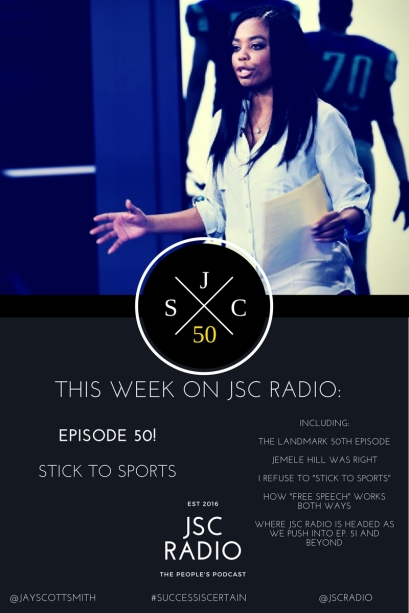 JSC Radio Ep. 50 Blog Banner